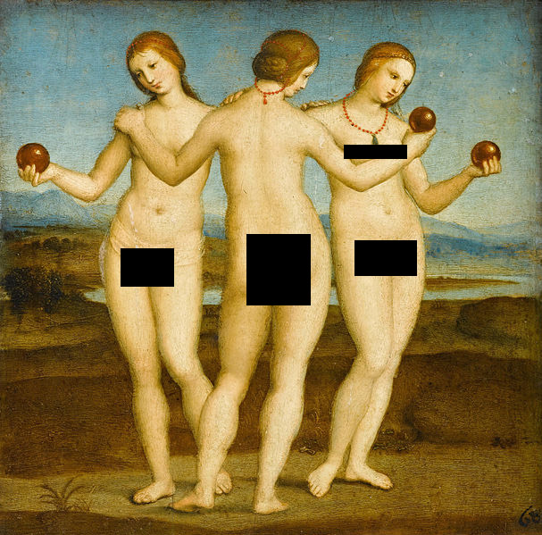 The-Three-Graces-by-Raphael