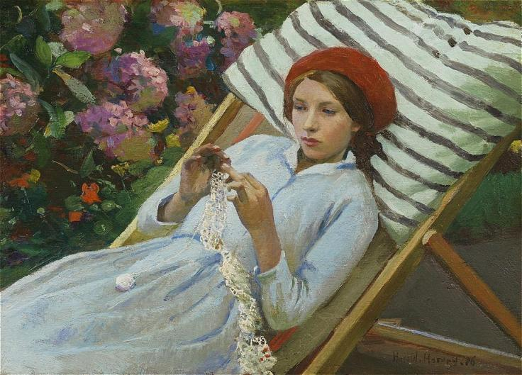 harold-harvey1874-1941the-girl-in-the-red-beret-1365905576_org