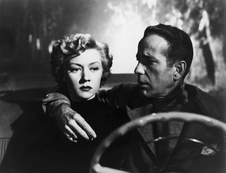 Gloria Grahame and Humphrey Bogart in Nicholas Ray's IN A LONELY PLACE (1950). Courtesy Sony Pictures Repertory/Film Forum. Playing 7/17-7/23.