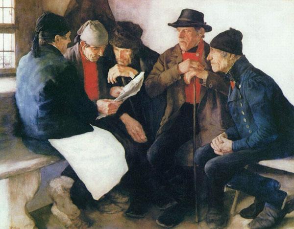 1877-Leibl.Dorfpolitiker