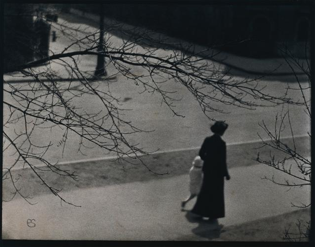 paul strand riverside drive at 83rd st., new york, 1914
